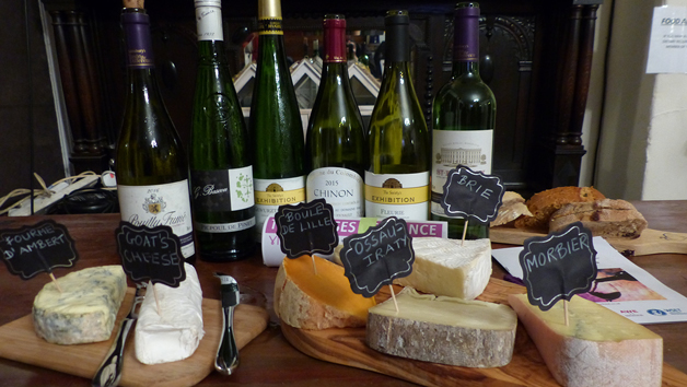 Cheese and Wine Tasting Experience at Northern Wine School for Two