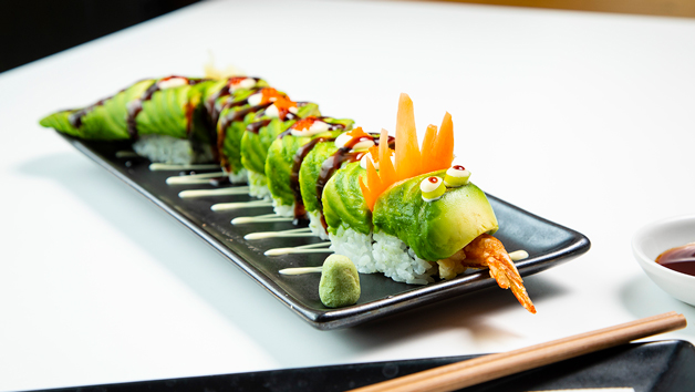Sushi Roll Masterclass and Bottomless Brunch for Two at Inamo