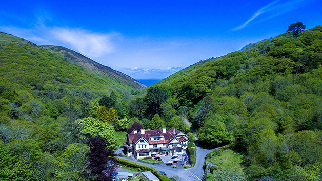 Two Night Stay and Breakfast for Two at The Hunters Inn, North Devon
