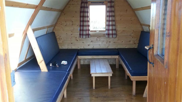 One Night Stay in a Wigwam for Two at Pot a Doodle Do Wigwam Village