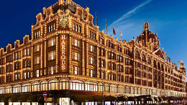 Cream Tea for Two with a Glass of Champagne for Two at Harrods