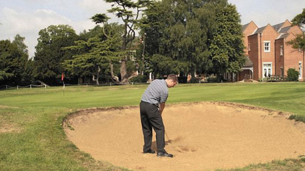Overnight Golf Retreat, Dinner and a Round of Golf at Coulsdon Manor Hotel and Golf Course for Two