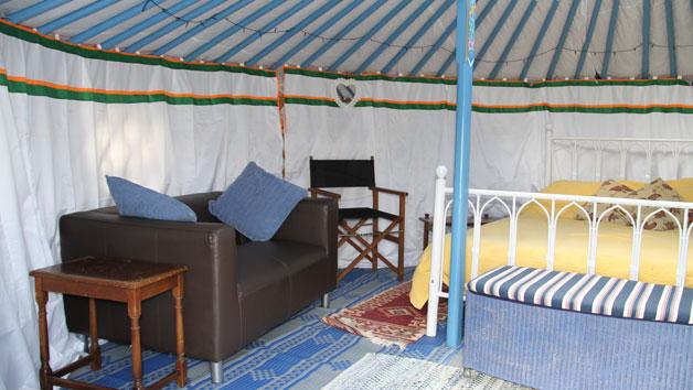 Two Night Yurt Break in Devon for up to Six People