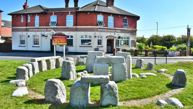 Two Night Stay with a Two Course Meal and Treatment at The Stonehenge Inn for Two