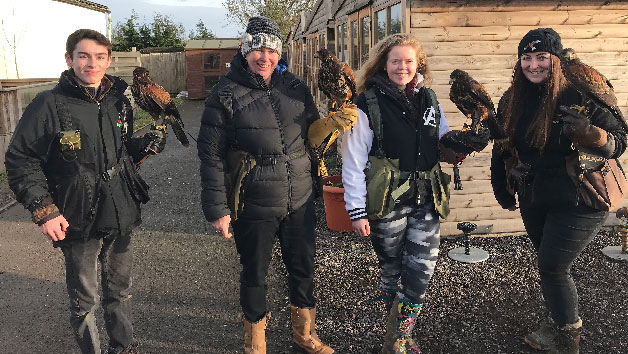 A Hawk Walk for Two People at The Animal Experience