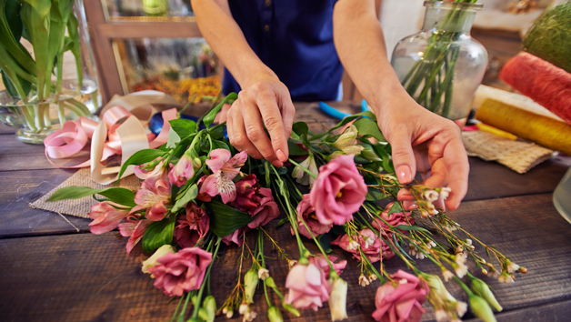 Floristry Academy Diploma Online Course for One Person