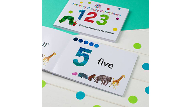 Personalised The Very Hungry Caterpillar Board Book