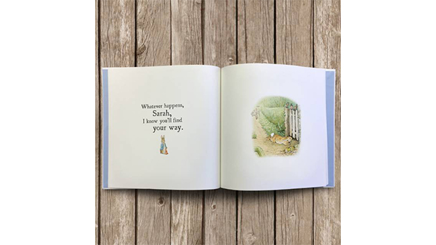 Personalised Peter Rabbit's Hopping into Life Book