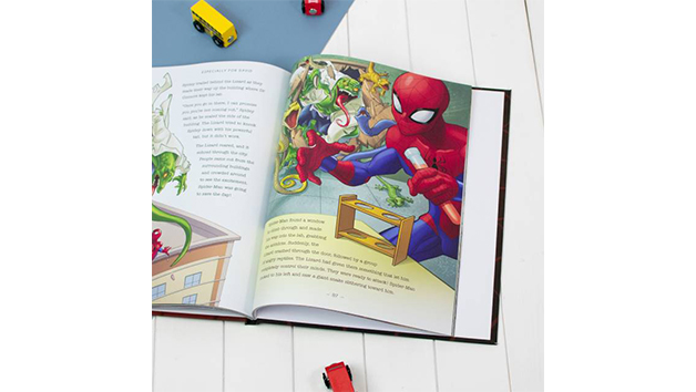 Personalised Spider-Man Ultimate Collection Book