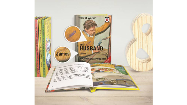 The Husband: A Personalised Ladybird Book