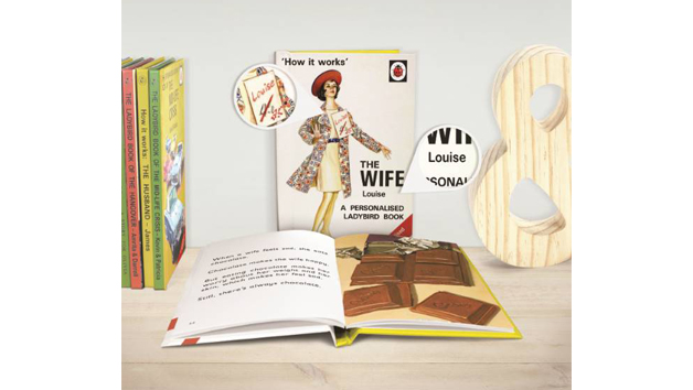 The Wife: A Personalised Ladybird Book