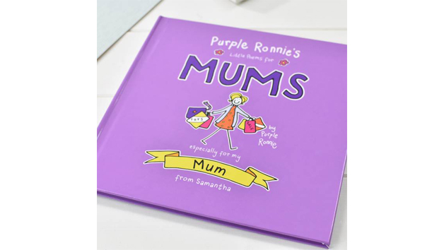 Customised Purple Ronnie's Little Poems for Mums