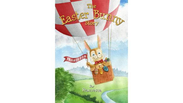 Personalised Easter Bunny Storybook