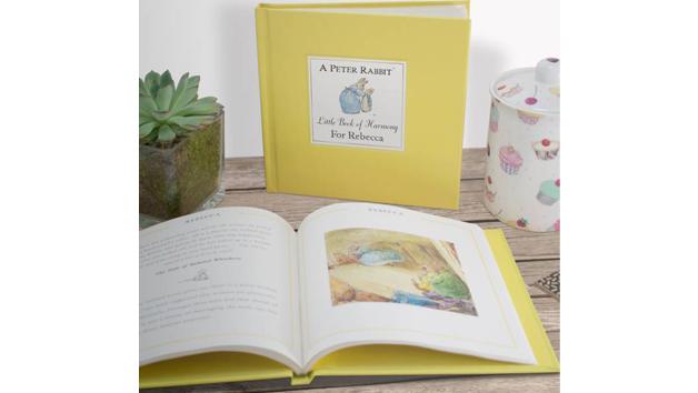 Personalised Rabbit's Little Book of Harmony