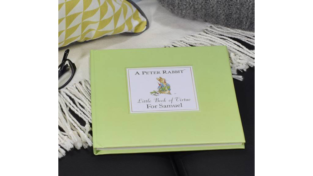 Personalised Peter Rabbit's Little Book of Virtue