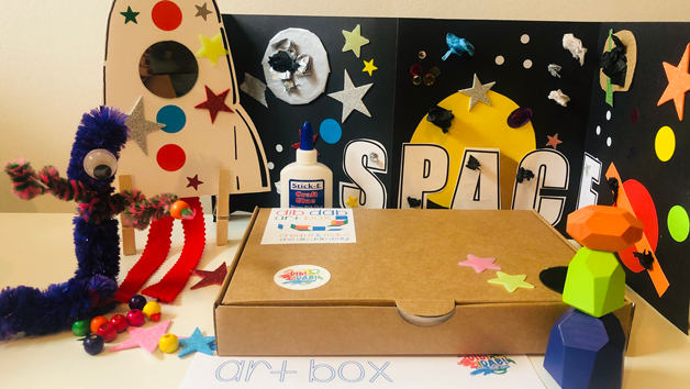 6 Month Subscription for Dib Dab Art Club for Two