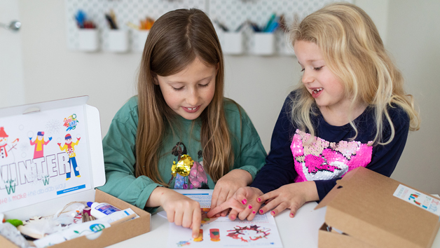 6 Month Subscription for Dib Dab Art Club for One Child