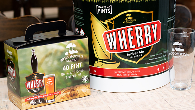 Home Beer Brewing Kit and Starter Kit from Woodforde's Brewery