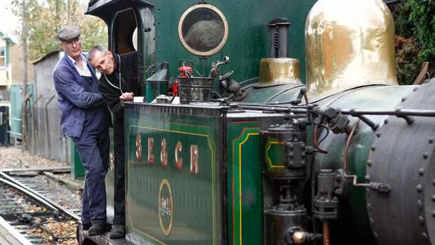 Day Behind the Scenes of Kent and East Sussex Railway for One