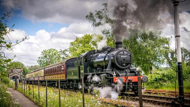 Steam Railway Day Rover Tickets on the East Somerset Railway for Two