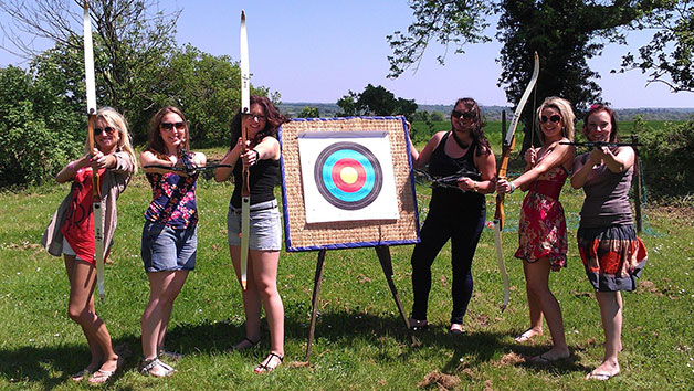 One Hour Archery Class for Two at High Harthay Outdoor Pursuits