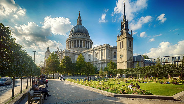 Visit to St Paul's Cathedral for Two Adults and Three Children