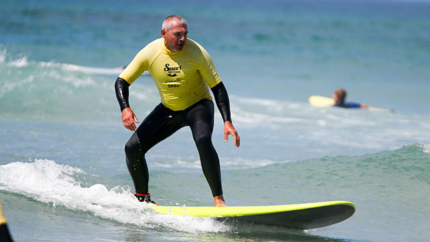 Private Surf Lesson for One at Smart Surf School, Cornwall