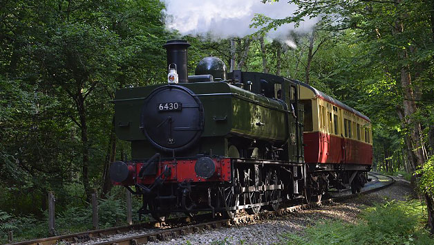 Self-Guided Vintage Bus Ride and Steam Train Journey with Cream Tea for Two