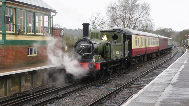 Chigwell Tours Self Guided Vintage Bus Ride and Steam Train Ride for Two with Afternoon Tea