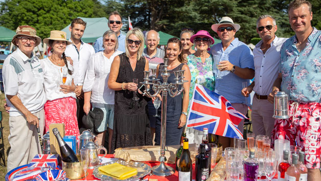 Battle Proms Classical Summer Concert with Prosecco and Strawberries and Cream for Two