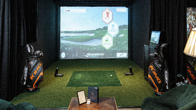 Private Golf Booth with Sharing Platter and Drinks at The Range for Two