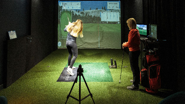 One Hour Golf Lesson at The Range for One