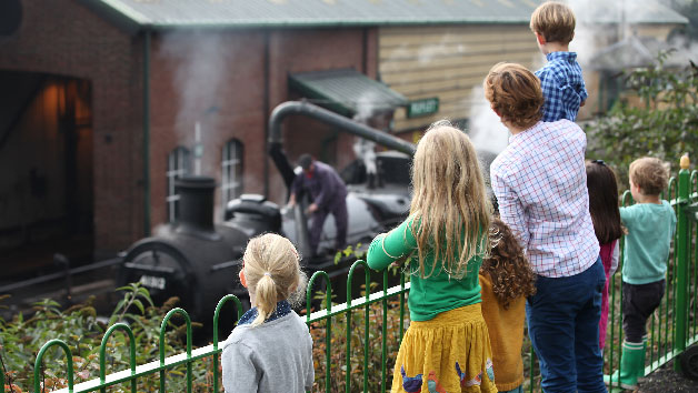 Family Steam Train Trip at Mid Hants Railway in Hampshire