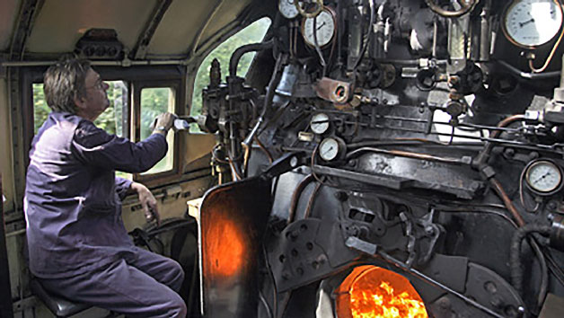 Introduction to Steam Engine Driving for One at Mid Hants Railway