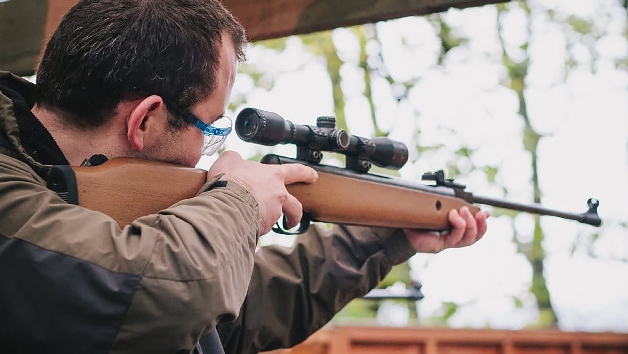 Air Rifle Shooting for Two with Madrenaline Activities