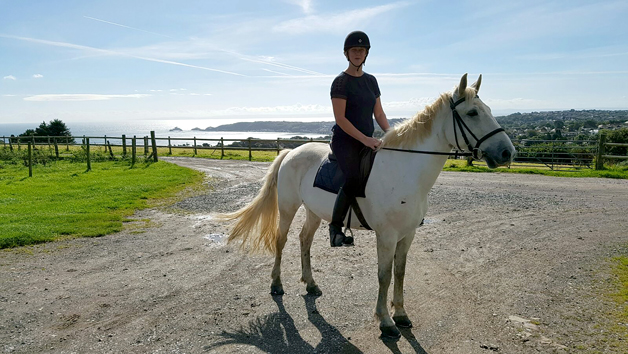 Horse-riding Lesson at Clyne Farm Centre for One