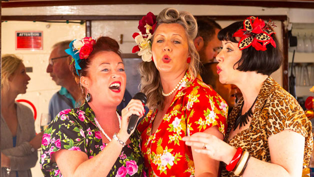 Live Postmodern Jukebox Jazz and Gin Cruise for Two with Dorset Cruises