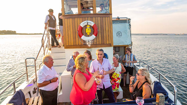 Artisan Gin Tasting Cruise and Canapes for Two with Dorset Cruises