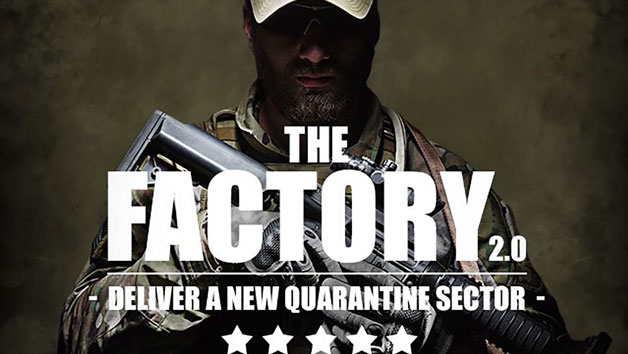 The Factory Zombie Infection Experience for One