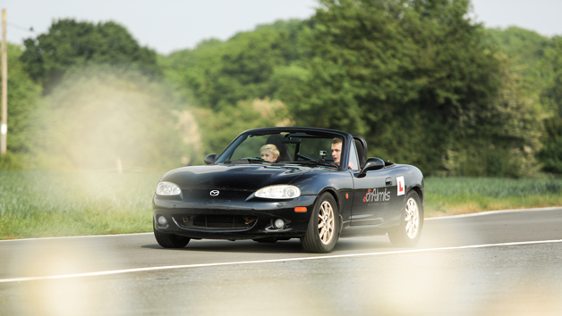 Under 17s Motorsport Academy Licence Driving a Mazda MX5