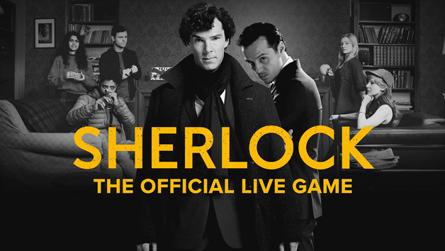 Sherlock: The Official Live Game Private Experience for Two with a Free Digital Photo