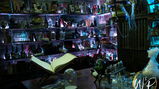 School of Witchcraft and Potions at Geeks and Gamers for Four People