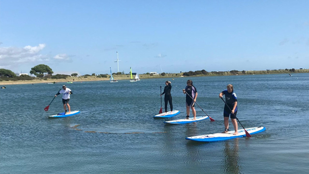 Paddleboarding Lesson at Sandy Point Watersports for Two