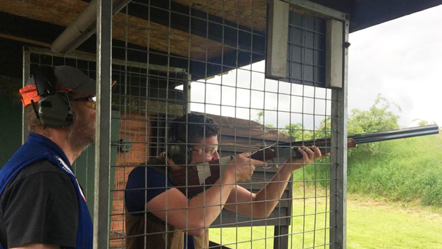 Clay Pigeon Shooting with 60 Clays at Guns and Clays for Two