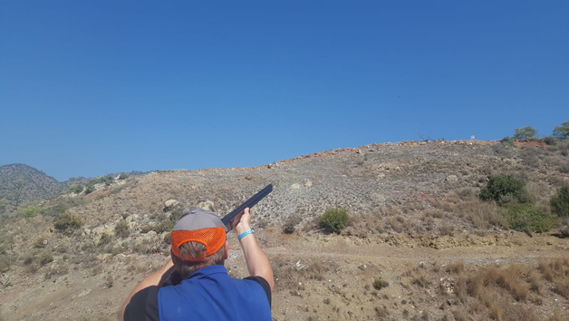 Clay Pigeon Shooting with 30 Clays at Guns and Clays for One