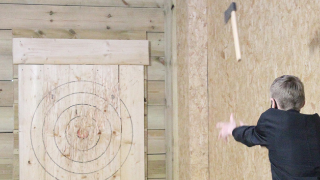 Axe Throwing at Target Sports World for Two