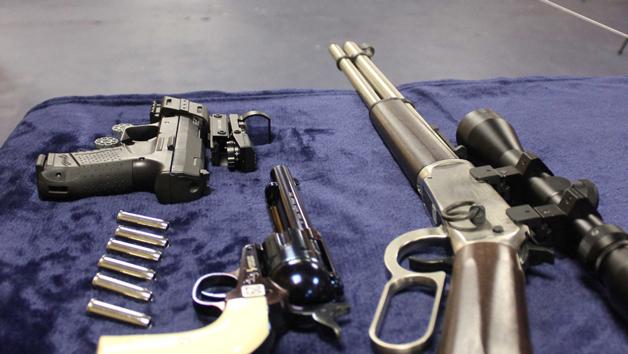 Air Gun Shooting at Target Sports World for Two
