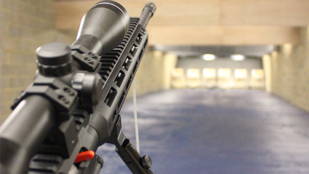 Assault Rifle Shooting at Target Sports World for Two