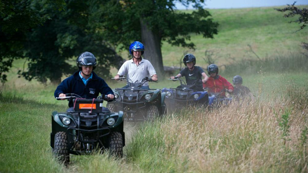 Quad Biking Experience for Two at MadMax Adventures