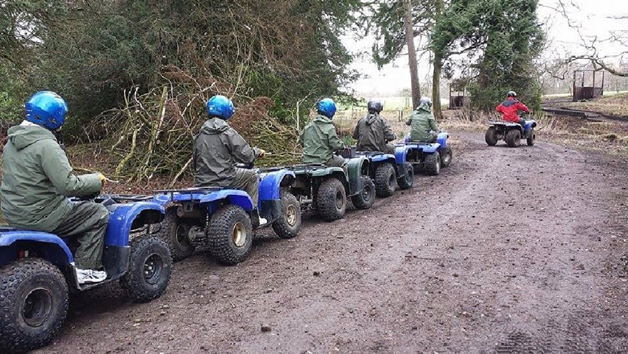 Quad Biking Experience for Four at MadMax Adventures
